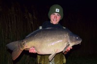 The smaller of a brace at 34lb 8oz
