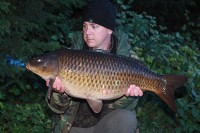 His session got off to a good start with this 26lb 8oz common