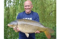 Landing this 26lb 4oz common early in his session