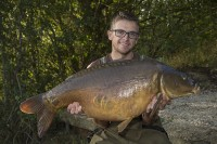 Just one of the special carp featured in this weeks episode