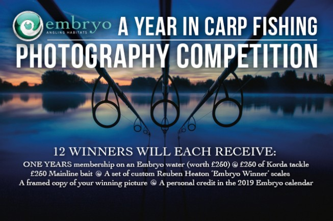 Embryo Calendar 2018 - Enter 1