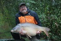 Stewart Bayford had never fished before