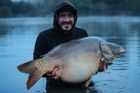 A new lake record for Adam Loader at 57lb