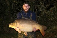 Ben Cummings with his second PB of the trip