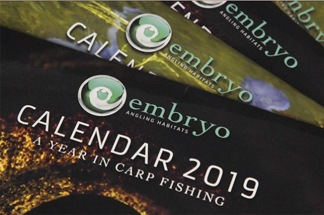 The 2019 Embryo Angling calendar is out now