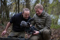 The Korda film crew were on hand