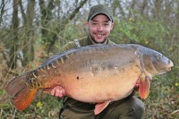 Black Spot at 54lb 14oz for Darren Lamey