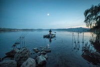 A lot of the fishing was at long range