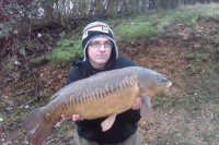 My old mate Neil Spooner with a fine linear