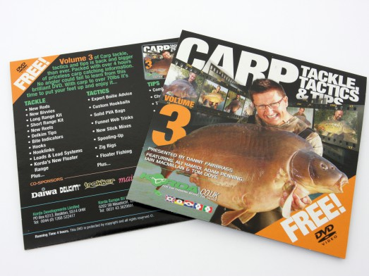 Korda Tackle & Tactics Volume 3 523x392