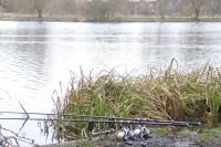 Rods are ready and waiting