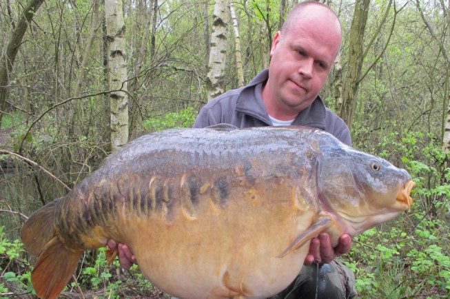 The incredible Nige's fish