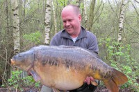 One of the most sought-after carp in Sandhurst