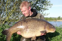 One of the biggest, most sought-after carp in the lake