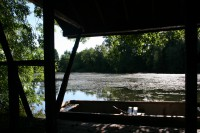 A view from the boathouse