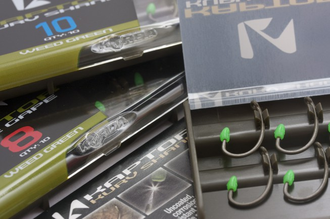 The Kaptors are available in Wide Gape and Kurv Shank patterns