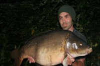 He weighed in at 39lb 14oz
