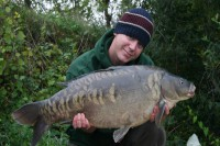 Ian 'Tel' Bailey with a stunning scaly one