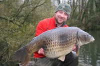 See how Damian caught this huge common