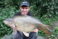 This fish weighed in at just under 20lb