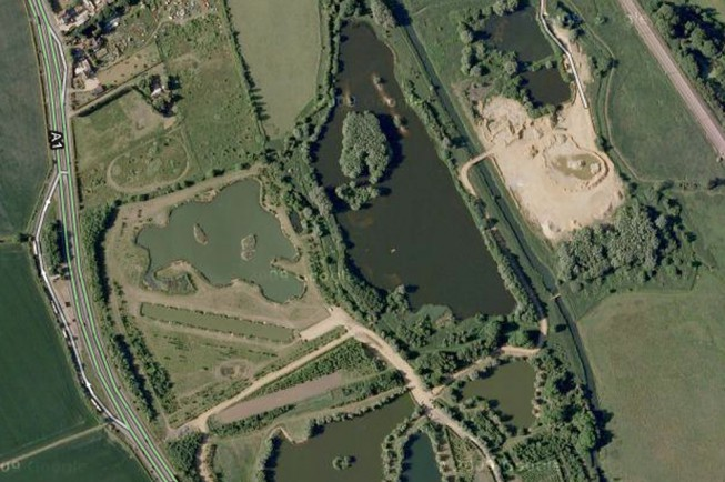 Manor Farm Fishery in Bedfordshire plays host