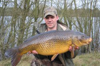 An old warrior of a common at 33lb 8oz