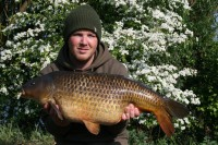 Richie Lofthouse fished the Carp Lake with Jake Wildbore