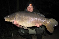 This 25lb 12oz stockie sprung my trap on dusk