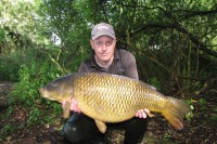 This 23lb 8oz common came during a busy afternoon spell