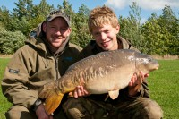 The chance to fish with Damian Clarke