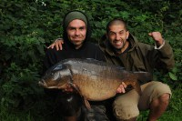 Ali and Gaz had an astounding session on the Pads lake