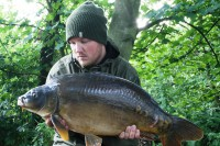 Richie had banked 11 fish from the Lenwade lake