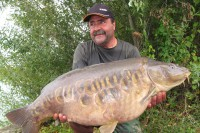 Wodka, one of the scaly ones at 41lb