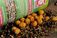Prebaiting with hemp, tigers, pellets and XXX boilies