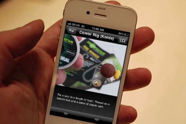 iRigs is an app that helps you tie the best rigs around