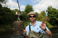 Dean explains how he bags his Wye fish