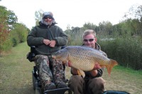 Adam Spearing bagged this 26lb common