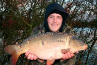 After losing a fish, Joe banked this little stockie