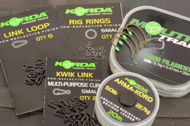 Our five lucky winners have bagged plenty of Korda kit