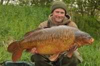 The great fish whacked the scales to 46lb 4oz