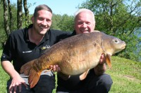 Father-and-son duo Barry and Ben O'Connor with a corker