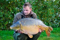 At 40lb 4oz, this mirror represents a great start on the lake