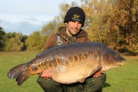 At 43lb 8oz, the magnificent Linear was a huge reward