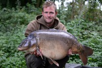 The biggest fish in Kingsmead One fell to Darrell's rods in 2012