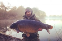 This incredible 35lb mirror succumbed early in the campaign