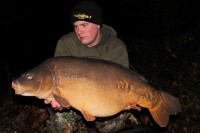 At 35lb 3oz, Craig's swim choice had paid off and then some