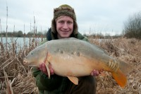 Angling tutor, Jake Wildbore is going