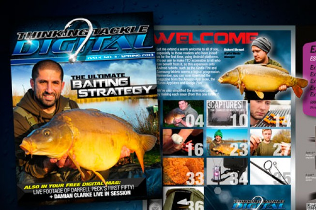 The third issue of Thinking Tackle Digital is live online, or...