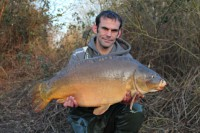 This leathery 27lb 12oz mirror fell to the same tactics