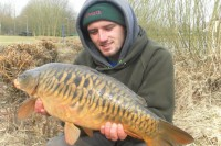 A cracking, scaly stock fish that fell to the baited campaign